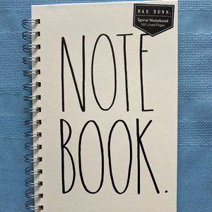 Rae Dunn Note Book 160 Pages